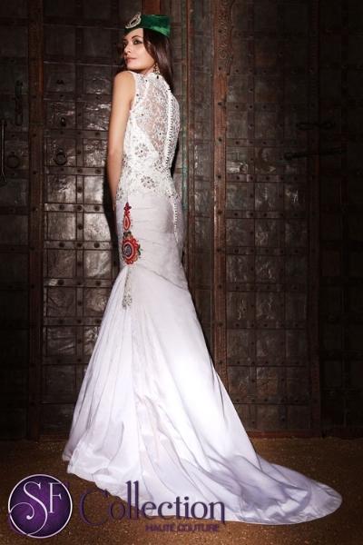 Bridal Fusion Wear Fusion Bridal Dress