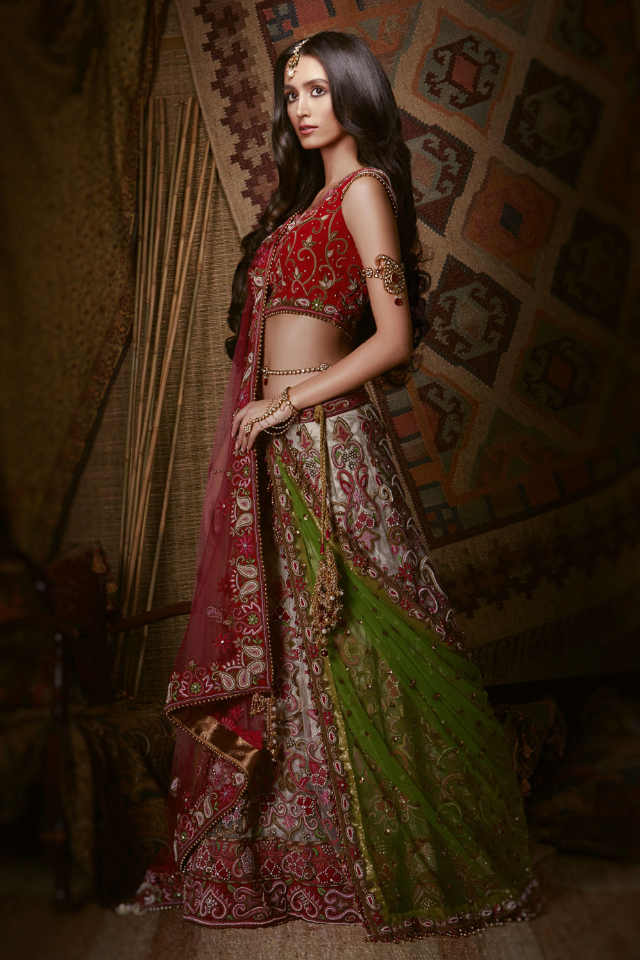 Indian Bridal Traditional Wear Indian Wedding Outfit